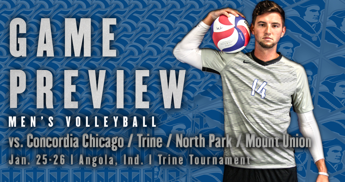 Men's Volleyball Competes in Trine Tournament This Weekend