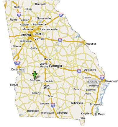 Image Gallery I Georgia - Georgia map i 75