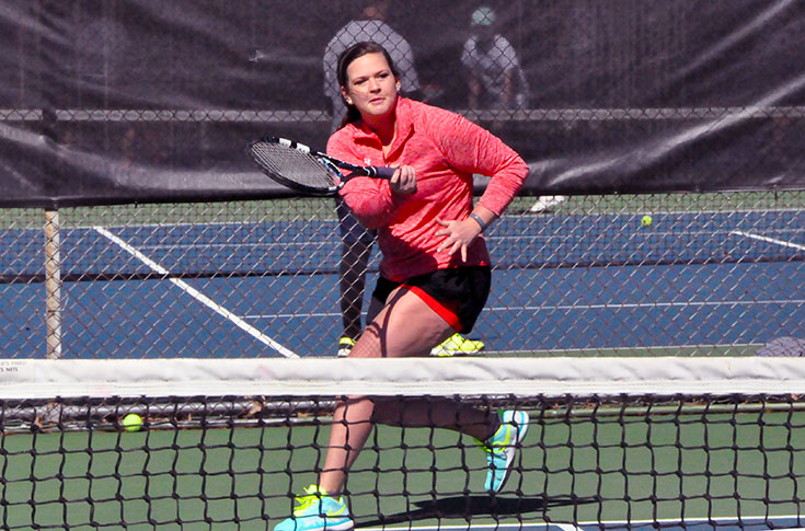 Women's Tennis: Panthers sweep matches against Johnson and Montreat without losing a set