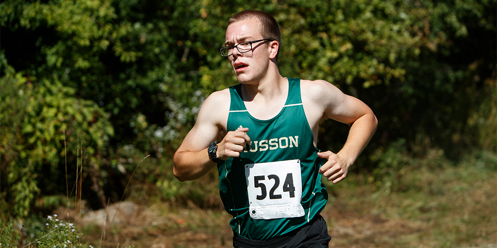 Men's Cross Country Competes at the 2016 Colby Invitational