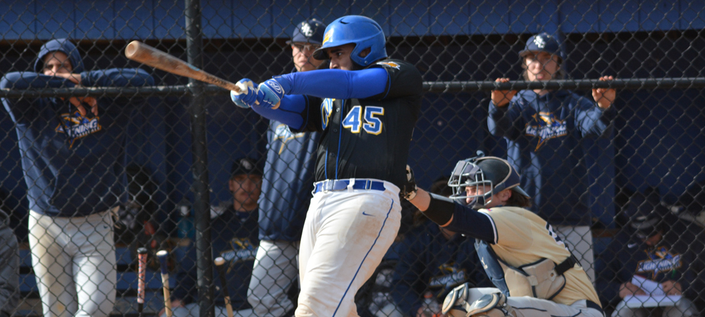 Baseball Upended Against NYIT In Season Opener, 7-6