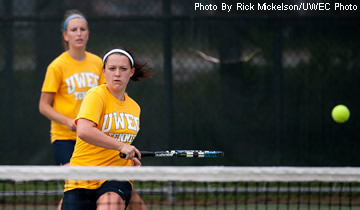 Women's Tennis Falls Twice at WIAC Team Tournament