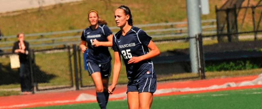 Women's soccer overcomes elements, Spartans for 1-0 win in UAA opener