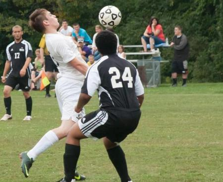 Soccer Tops Davis Second Time Around