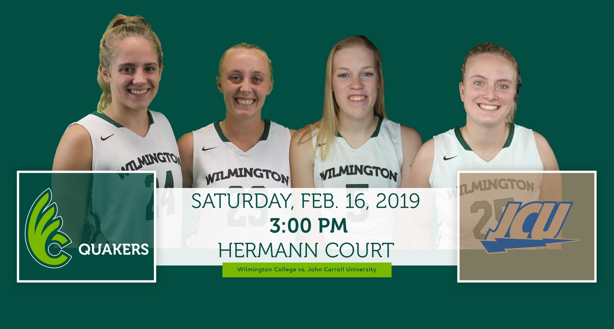 Women's Basketball Hosting JCU on Senior Day