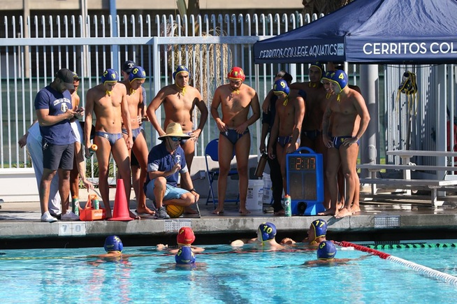 Cerritos men's water polo seeded #4 for SoCal Regional Playoffs