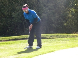 Falcon golfers defeat WLC in dual