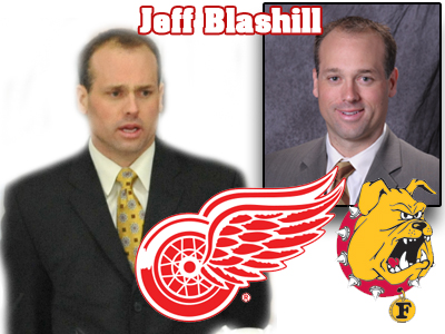 Bulldog Hockey Alumnus Jeff Blashill Named Detroit Red Wings' Assistant Coach