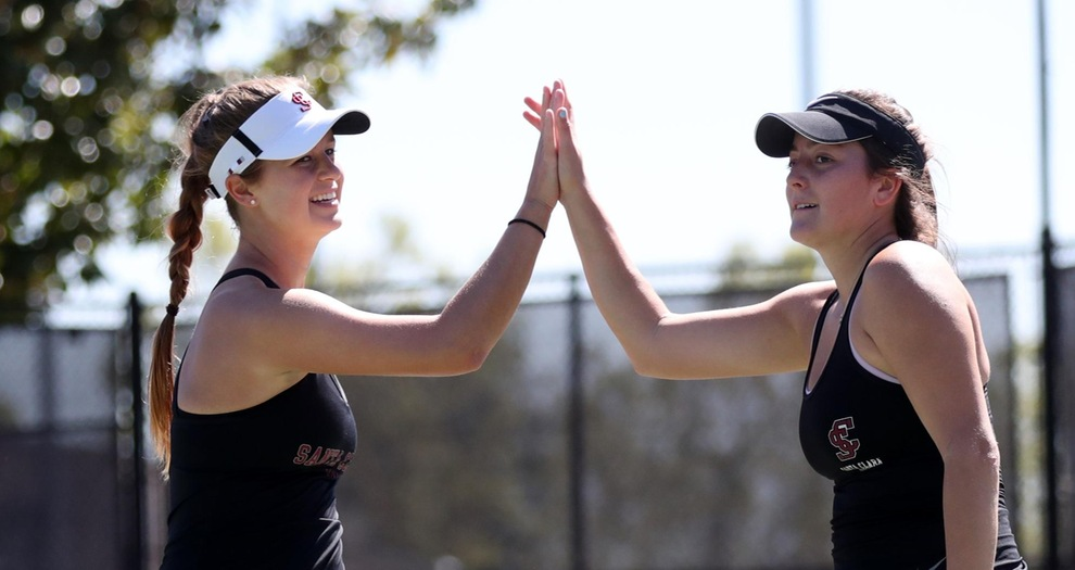 Women's Tennis Duo Advances to Doubles Semifinals at SMC Fall Invite