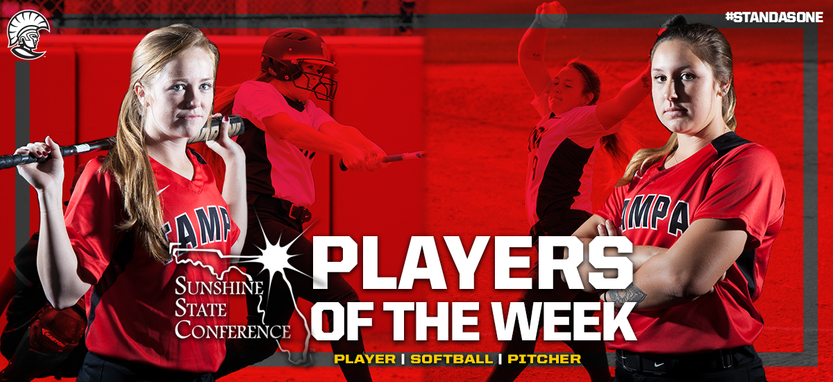 UT Sweeps SSC Player of the Week Awards