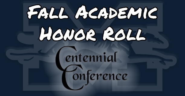 Centennial Conference Fall Academic Honor Roll