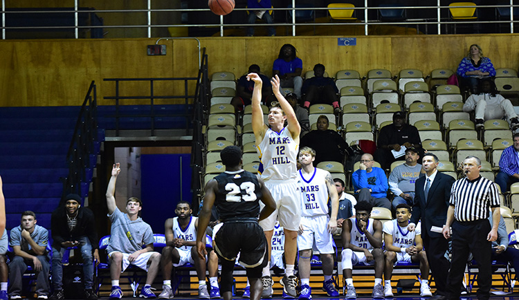 Mars Hill defeats Southern Wesleyan, 72-52, in non-conference action