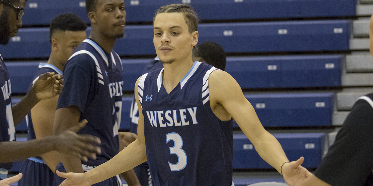 Anderson paces Wesley with new career-high against Immaculata