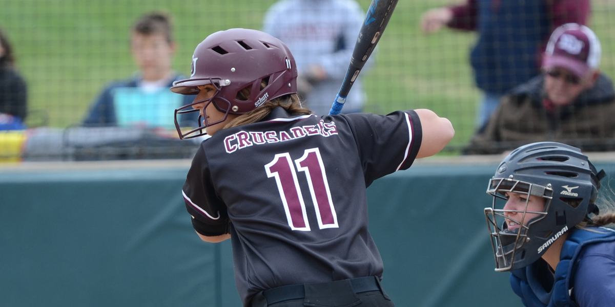 Bats Help Evangel Softball to Saturday Split at Benedictine