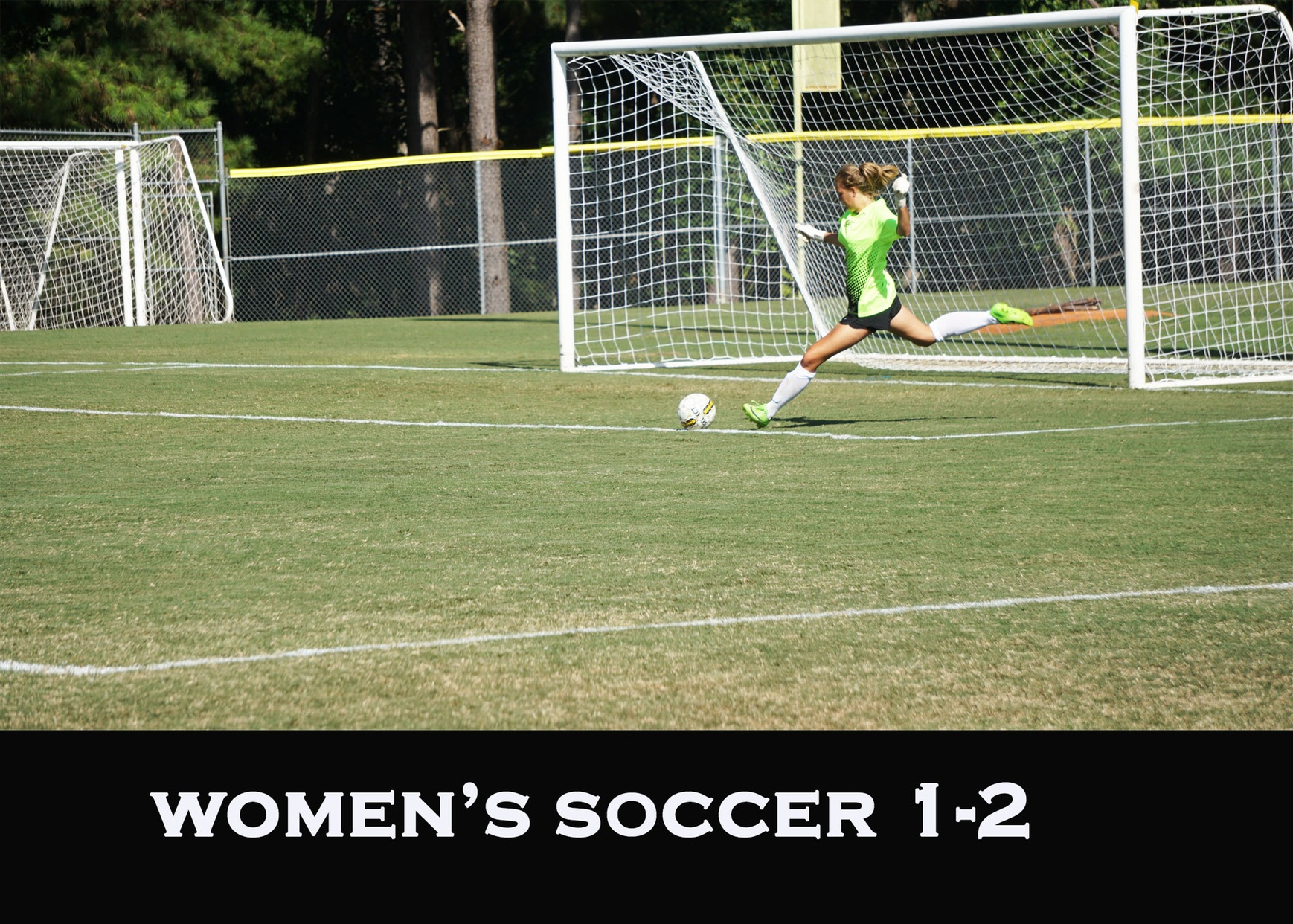 Women's Soccer Fall 1-0 to Cape Fear CC