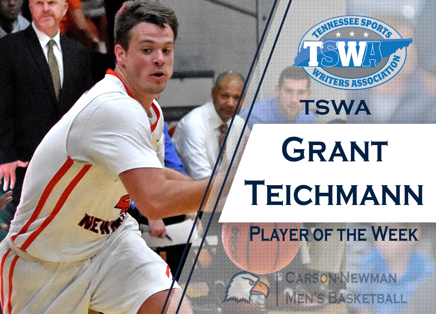 TSWA touts Teichmann as state player of the week
