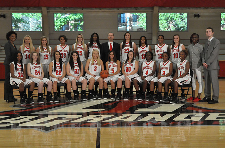 Women's Basketball: Panthers on a roll entering USA South Tournament
