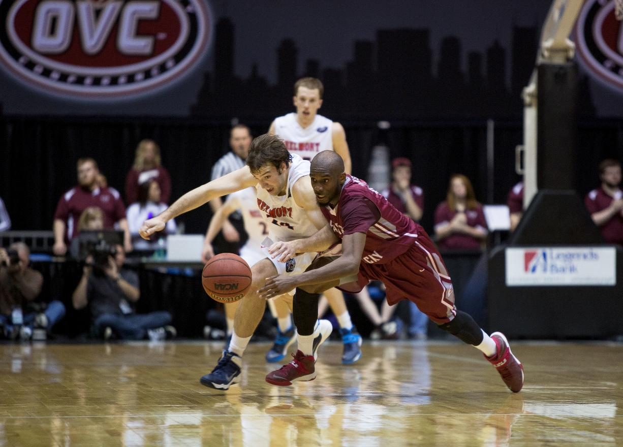 Destiny Denied; Men's Basketball Falls to Eastern Kentucky in OVC Championship