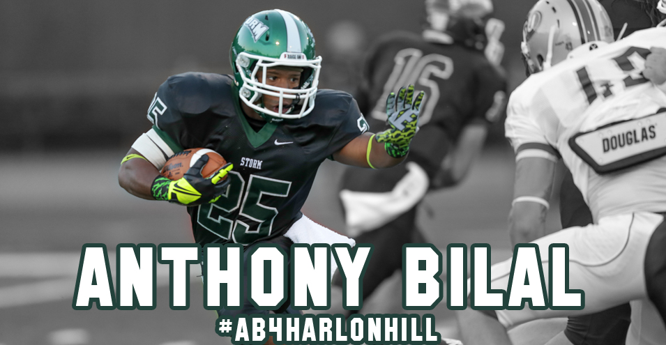 Bilal Named National Finalist for Harlon Hill