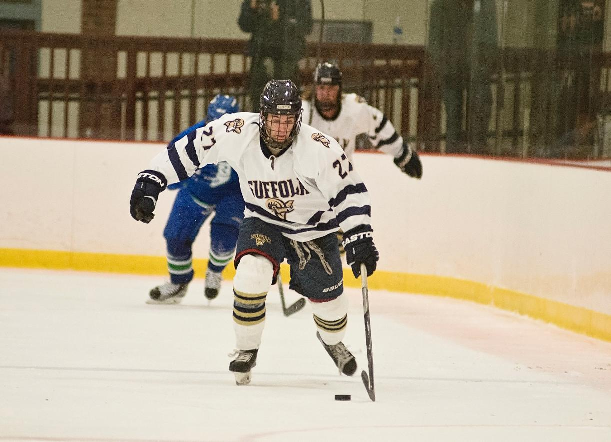 Men's Hockey Skates to 2-2 Tie with Nichols