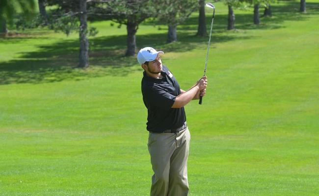 Freshman Ryan Piersimoni carded a five-over par round of 75 as the Keuka College men's golf team opened the 2014 season with a third-place finish in the annual SUNY Cobleskill Fall Invitational.