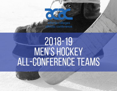 Presenting the 2018-19 ACAC Men's Hockey All-Conference Teams