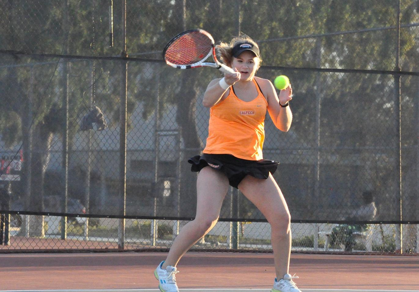 Bodrova Challenges in First Set Against No. 5 Pomona-Pitzer