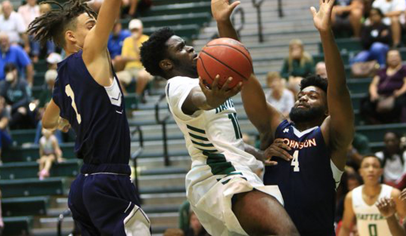 Jones' 20 Points Leads Hatters to Dominating Victory in Home Opener