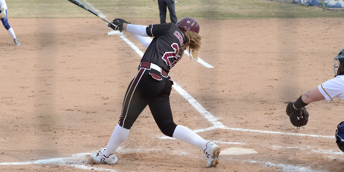 Evangel Softball Stumbles in Double-Header vs Kansas Wesleyan