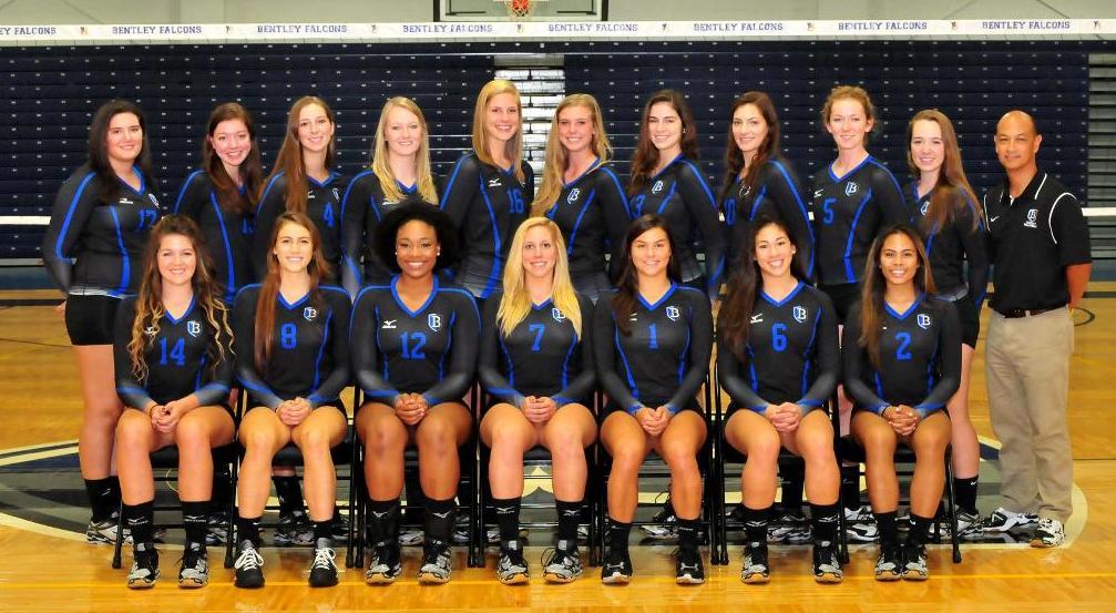 2014 Bentley University Women S Volleyball Roster Bentley