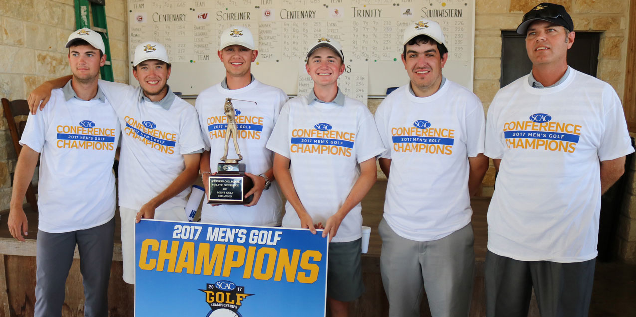 Southwestern Earns Second Consecutive Men's Golf Title