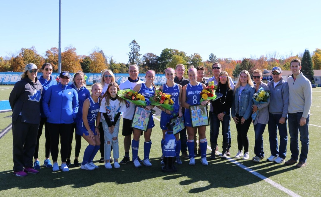 Field Hockey Takes Home A Win On Senior Day