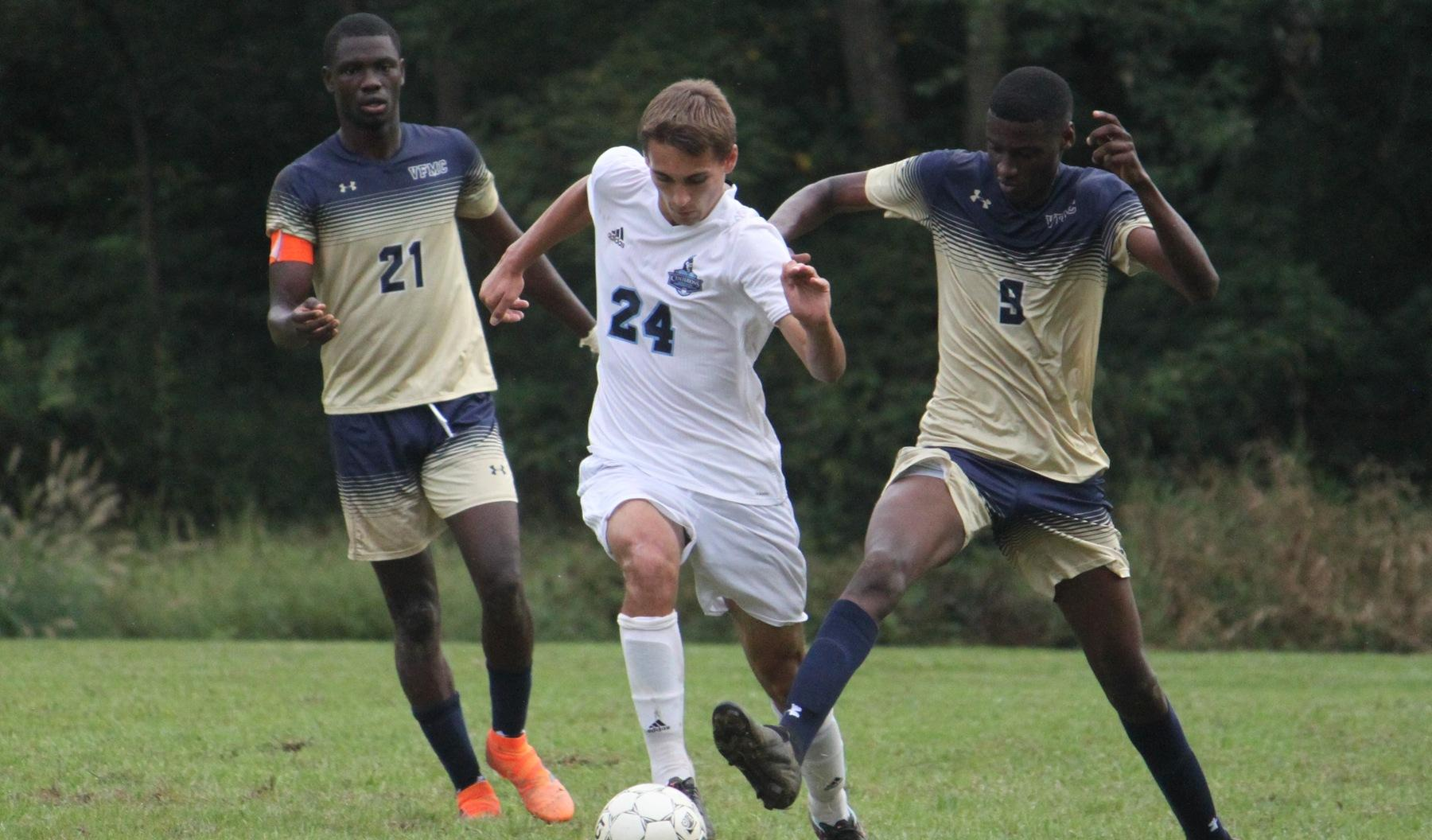 Ritts Propels Men's Soccer