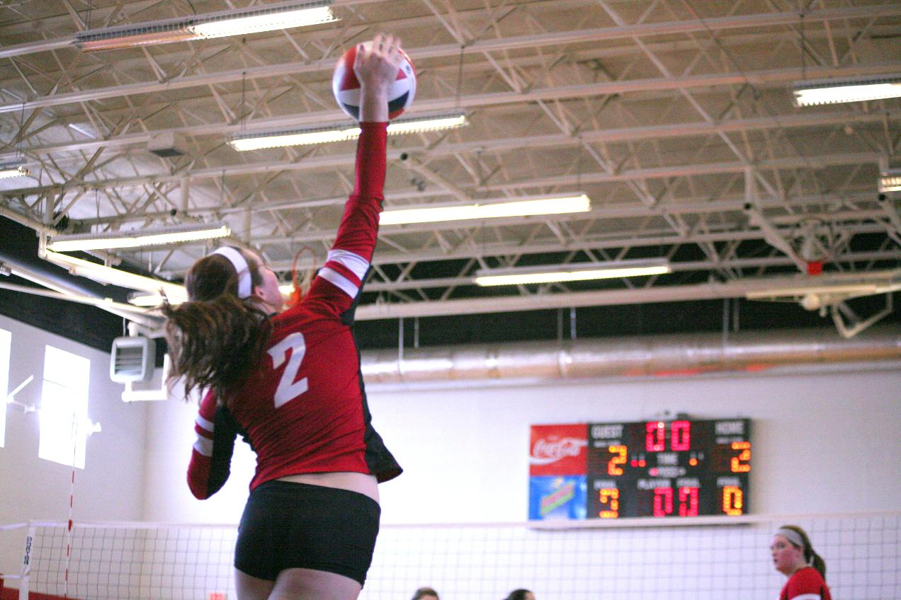 Volleyball: Panthers down Point 3-1 to get first win of season