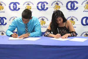 Pair Of Odessa College Runners Signing To Lace Up For UTPB