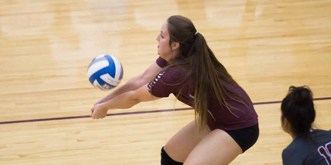 Lawson Breaks Dig Record against #10 Trinity, Ladies Sweep Austin College for First Time