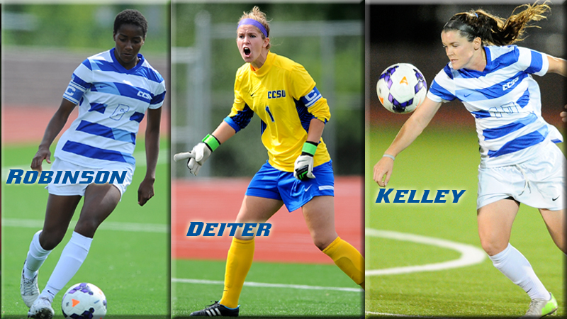 Women's Soccer Trio Selected to NEWISA Senior Bowl