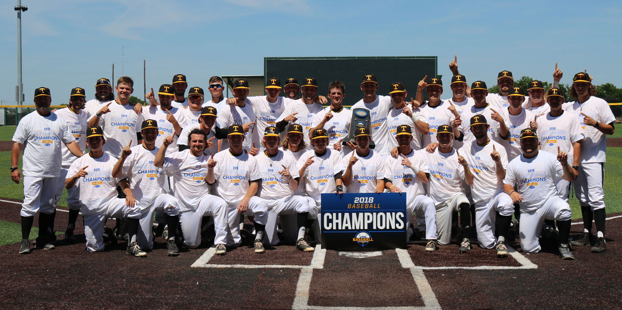 Texas Lutheran Wins First SCAC Baseball Tournament Title