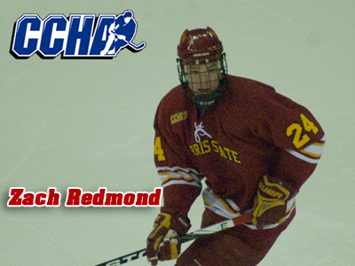 Zach Redmond Earns CCHA Defenseman Of The Week Plaudits