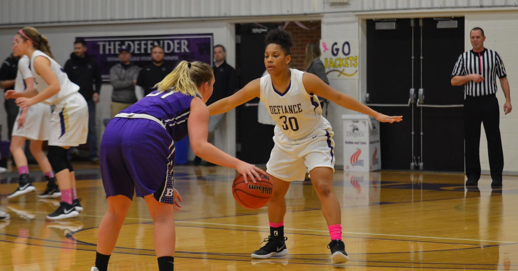 Women's Basketball Struggles in Match-up with Bluffton