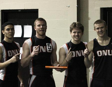 Men's Indoor Track & Field finishes second at OAC Championships