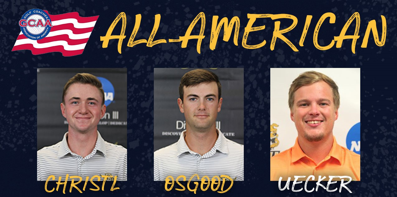 Southwestern's Osgood and Christl, Texas Lutheran's Uecker Earn All-America Honors