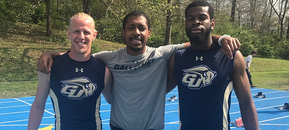 Pictured left to right: Gunner Hahn, Michael Haynes and Jamal Garner