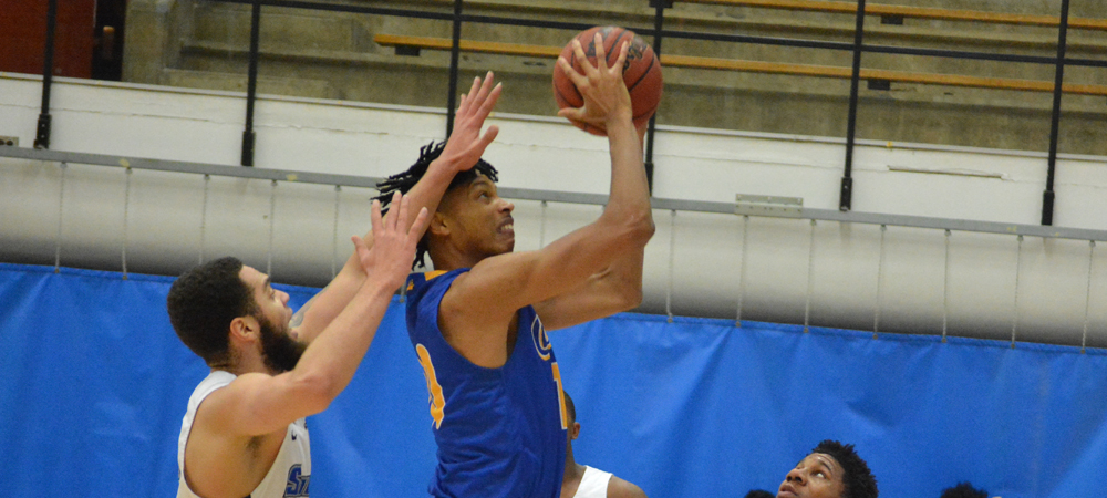 Men's Basketball Edged At Southern Connecticut State, 97-76