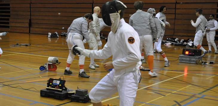 Beaver Fencers Compete at Orange Coast Event