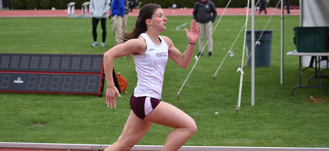 Luscier Wins 60 Meter Dash as Women's Track and Field Competes at Division III New England Championships