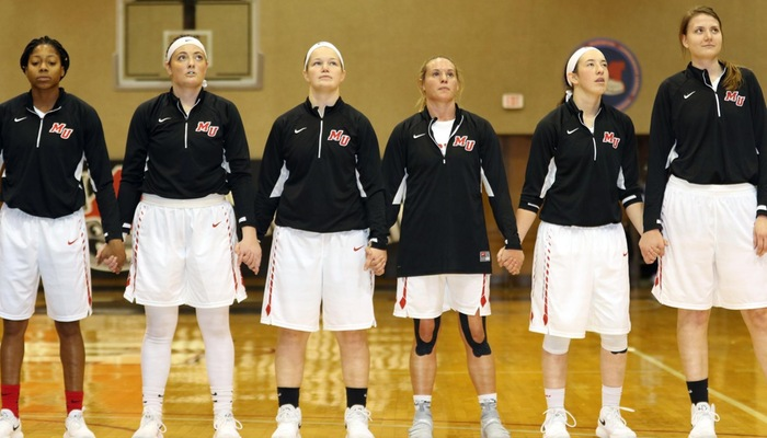Women's basketball wins emotional contest