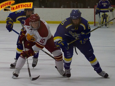 #18 Ferris State Upends #14 Alaska In 4-2 Home Triumph