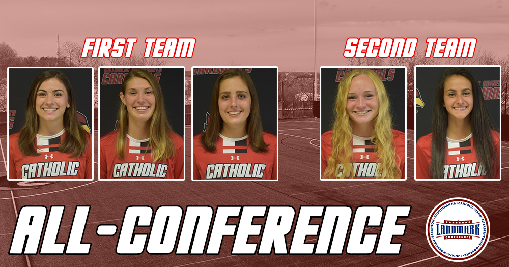 Five Cardinals Named to All-Landmark Conference Teams
