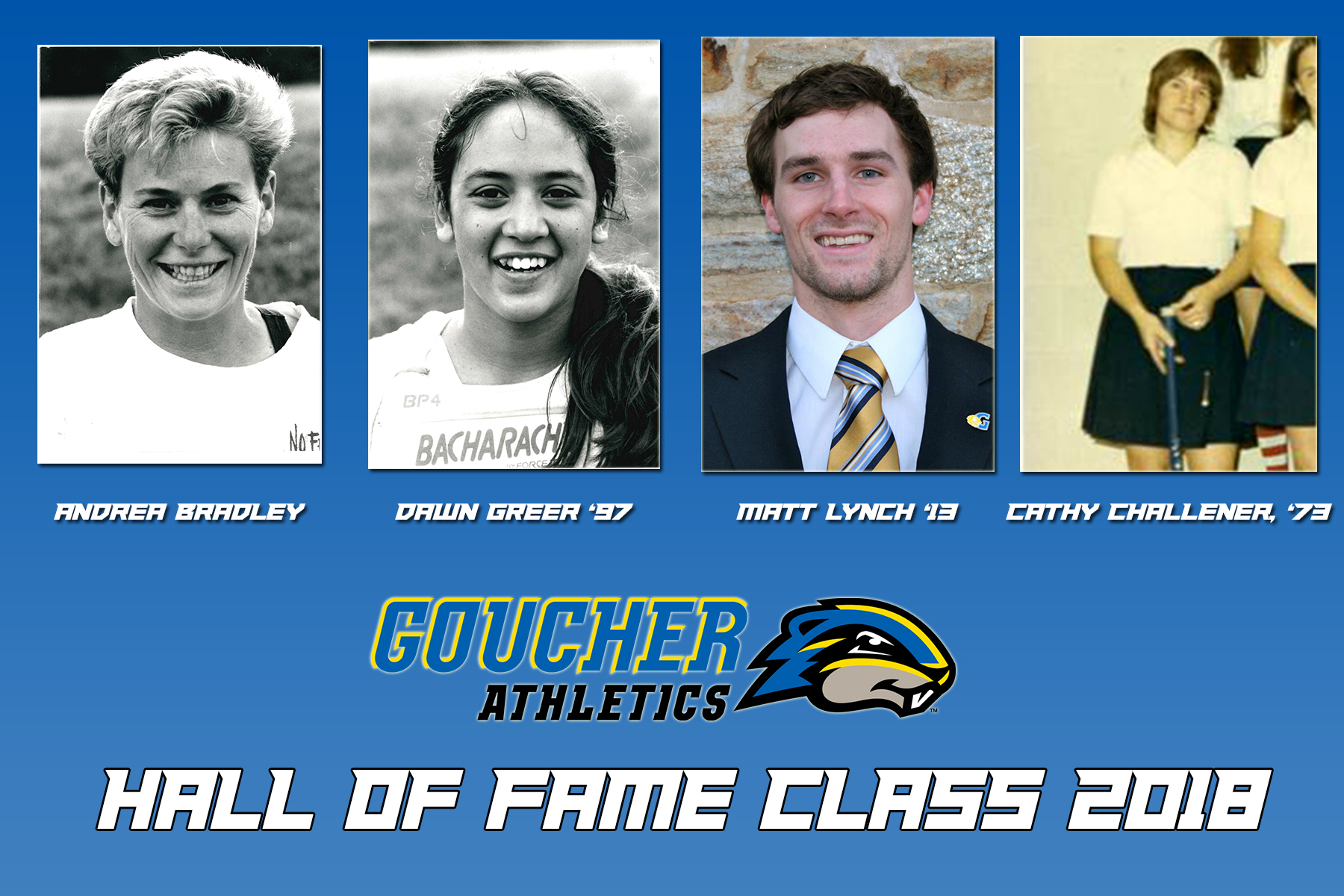 Four to be Inducted into Goucher College Athletics Hall of Fame Class in April
